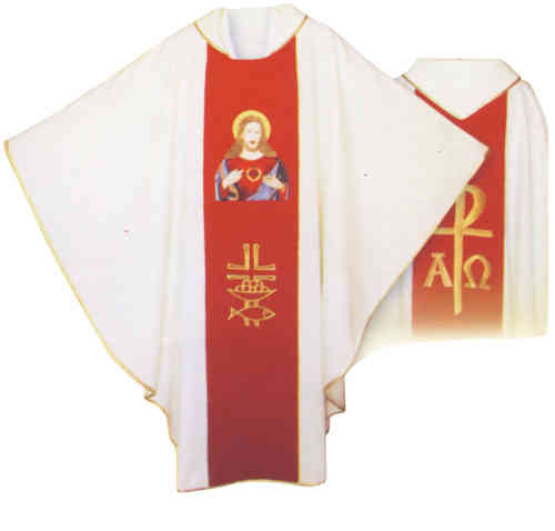 Gothic Chasuble - Sacred Heart