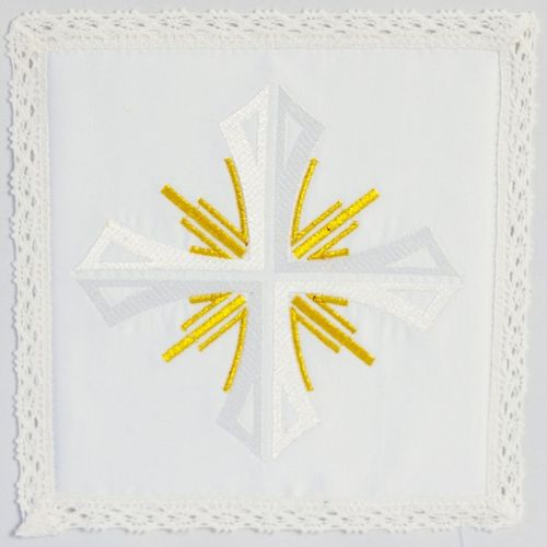 Small Linen - Cross with Rays