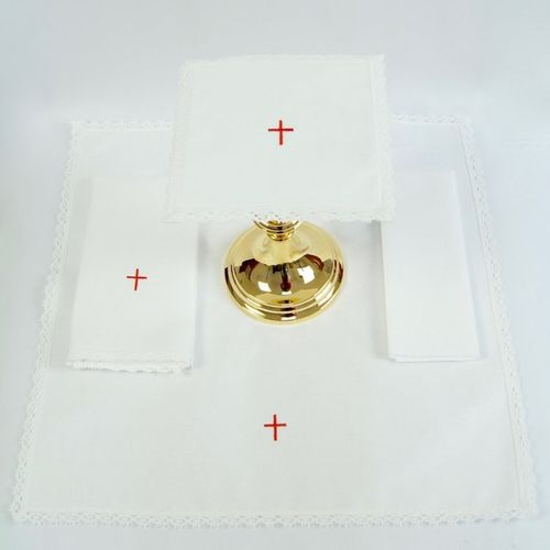 Small Linen - Simple Cross