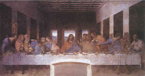 Da Vinci Last Supper Banner/Hanging