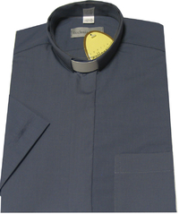 Mid Grey 'Easicare' Shirt