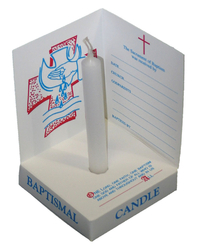 Baptismal Box Candle
