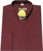 Burgundy Single Pin Shirt