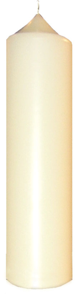 Altar Candle - 8cm x 30cm (Pack of 2)