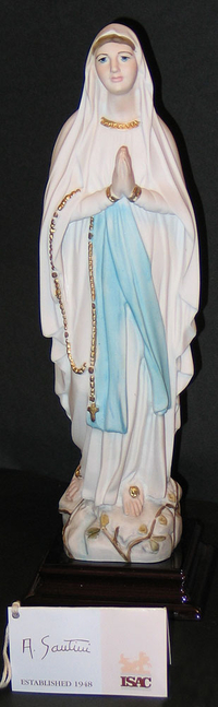 Our Lady of Lourdes - Porcelain