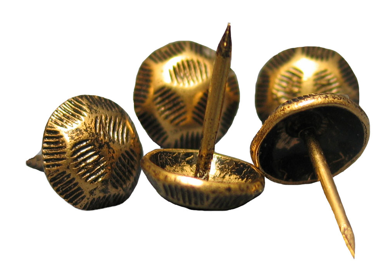 Set of Small Brass Incense Pins
