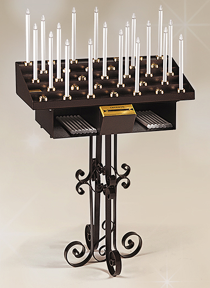 Artistic ELECTRIC Votive Candle Stand