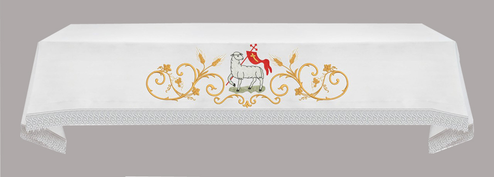 EASTER Eucharistic Altar Cloth with Agnus Dei