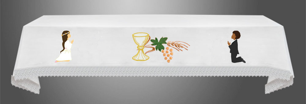 First Communion Cloth A
